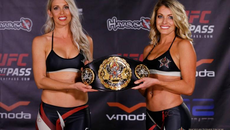 Invicta FC octagon Girls