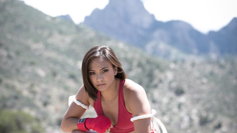 Michelle Waterson by Wilson Fox