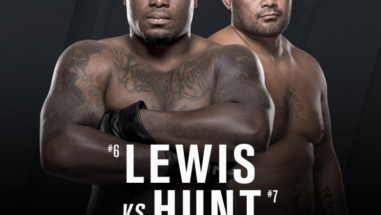 Derrick Lewis vs Mark Hunt set for UFN Auckland Headline