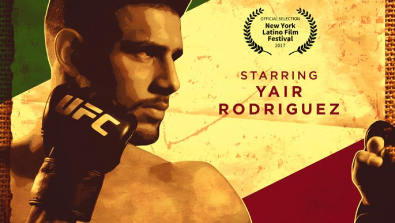 """El Pantera"" Yair Rodriguez documentary official poster"