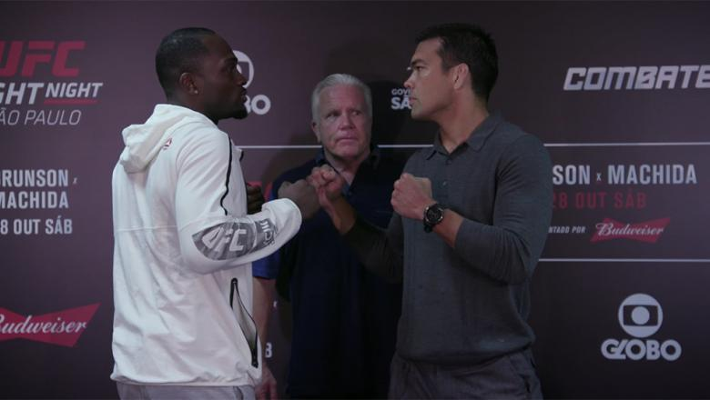 Derek Brunson vs Lyoto Machida