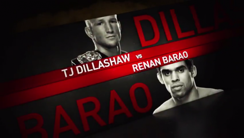 UFC Fight Night Chicago TJ Dillashaw vs Renan Barao
