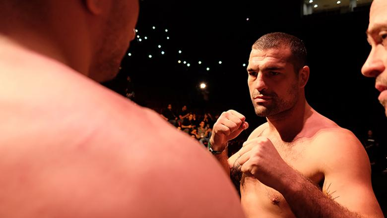 Mauricio Shogun Rua faces Gian Villante at UFC Fortaleza weigh ins (Photo credit Juan Cardenas)