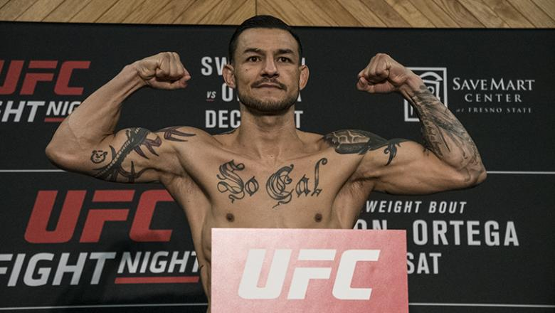 Cub Swanson - UFC Fresno official weigh ins