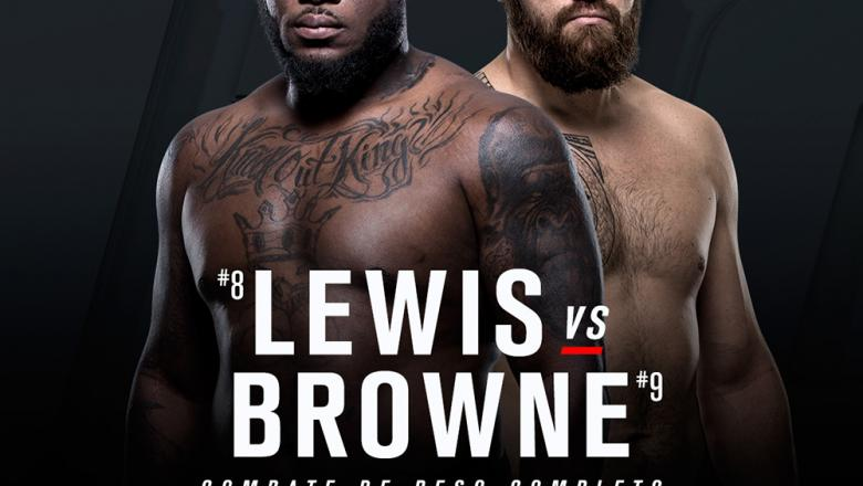 Derrick Lewis vs Travis Browne