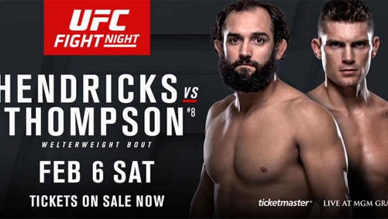Johny Hendricks vs. Stephen Thompson UFC Fight Night Las Vegas 2016