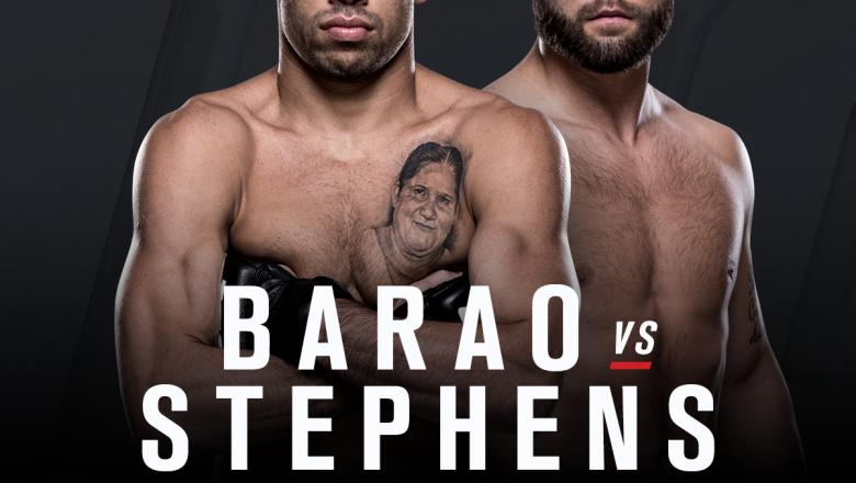 UFC Fight Night Las Vegas May 29 co-main announcement Jeremy Stephens vs Renan Barao