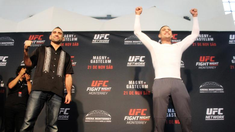 UFC Fight Night Monterrey Ricardo Lamas and Diego Sanchez