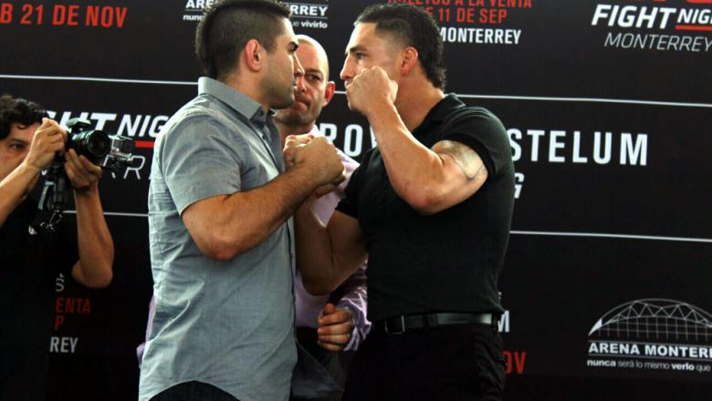 UFC Fight Night Monterrey Ricardo Lamas vs Diego Sanchez
