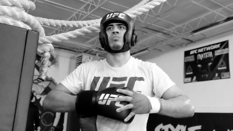 Perry Montano in Chicago preparing for UFC Fight Night Monterrey.