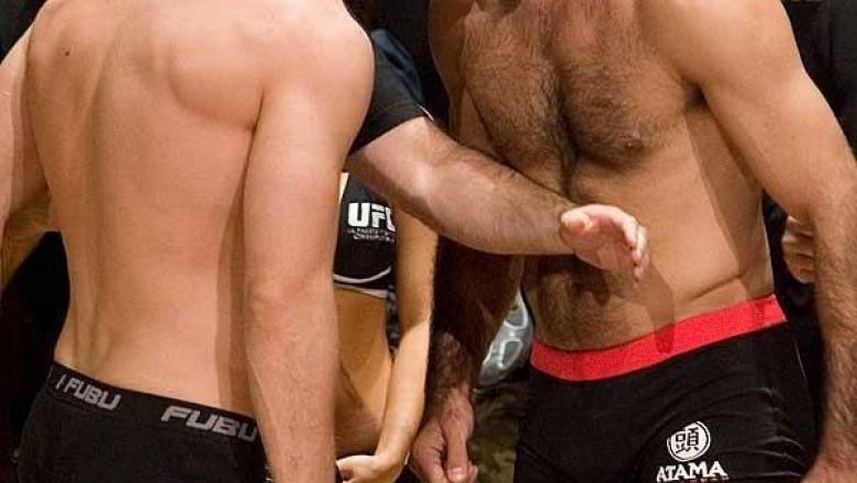UFC 70: Nations Collide Weigh-In: Michael Bisping & Elvis Sinosic