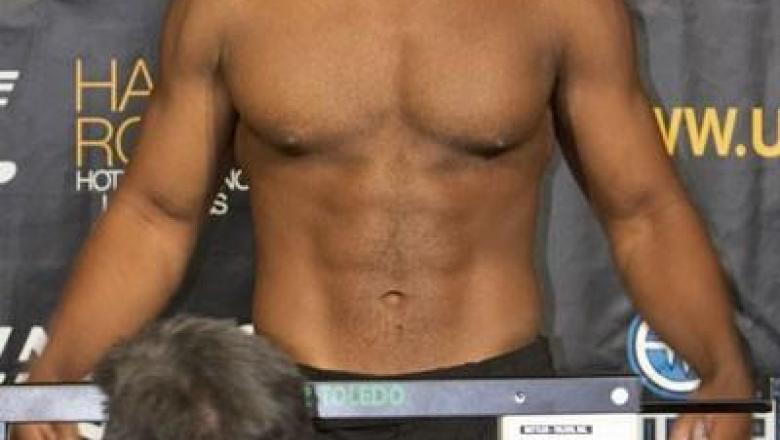 Rashad Evans UFN 5 Weigh In
