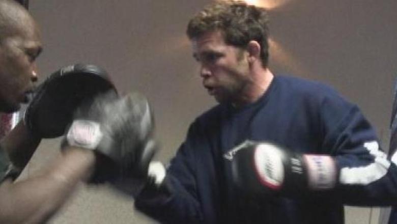 UFC Time Credeur Workout