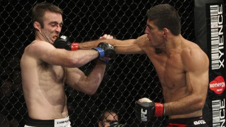 UFC 106 Paulo Thiago vs Jacob Volkmann