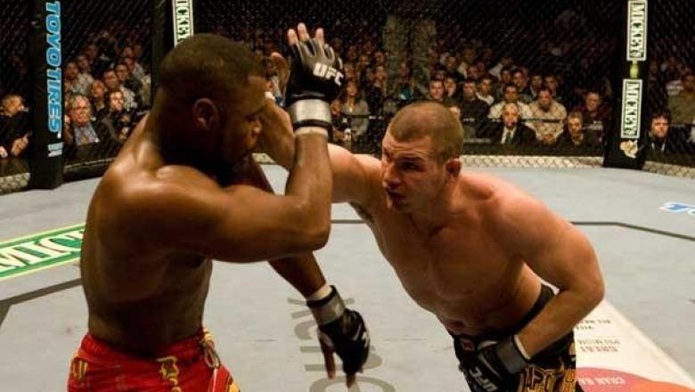 UFC 78 Validation Rashad Evans vs Michael Bisping