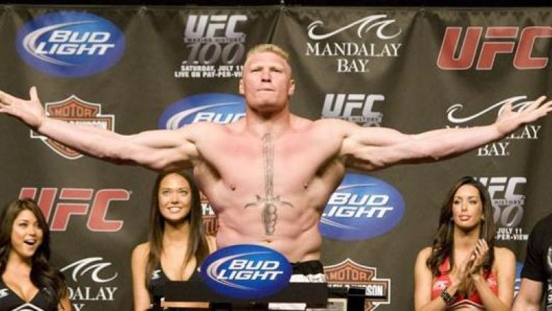 UFC 100 Weigh-In Brock Lesnar
