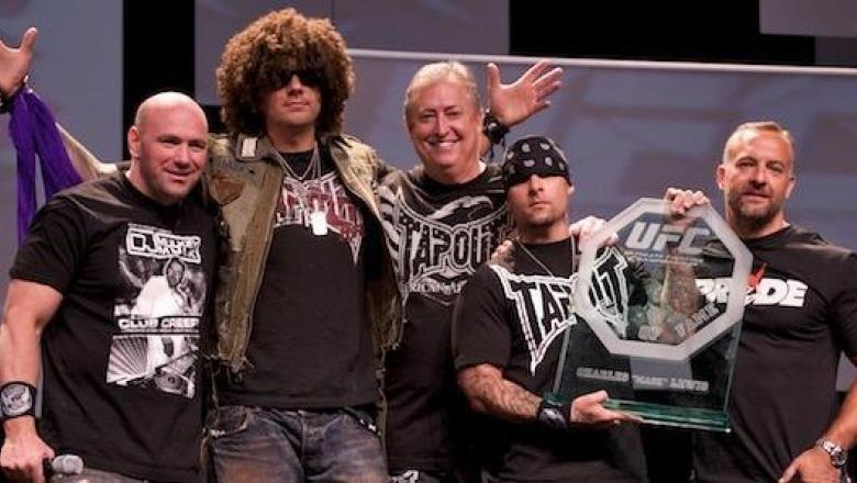 UFC 100 HOF with Tapout, Dana, Lorenzo