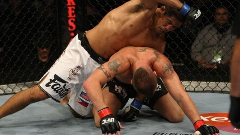 UFC 102 Mark Munoz vs Nick Catone