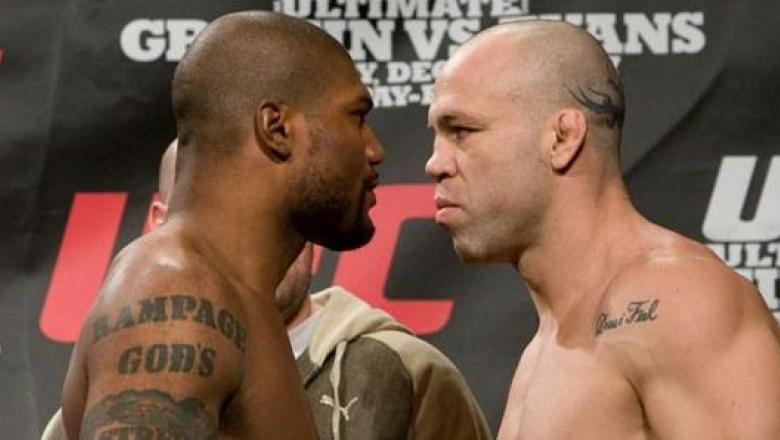 UFC 92 Weigh-In Rampage Jackson & Wanderlei Silva