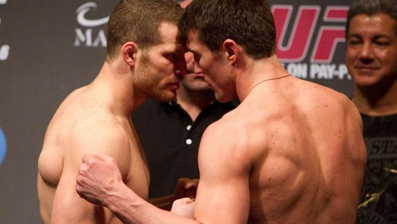 UFC 109 Weigh-In Nate Marquardt & Chael Sonnen