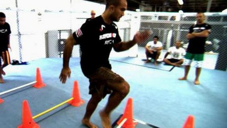 UFC 101 BJ Penn Training