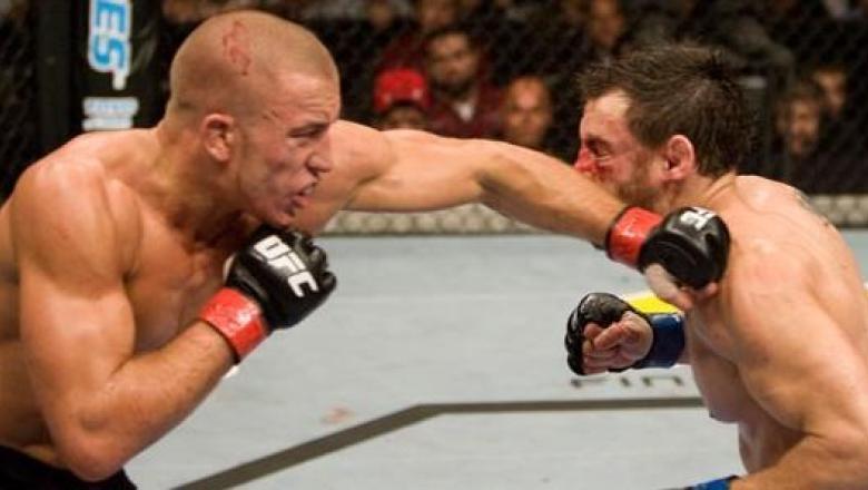 UFC 87 Georges St-Pierre vs Jon Fitch