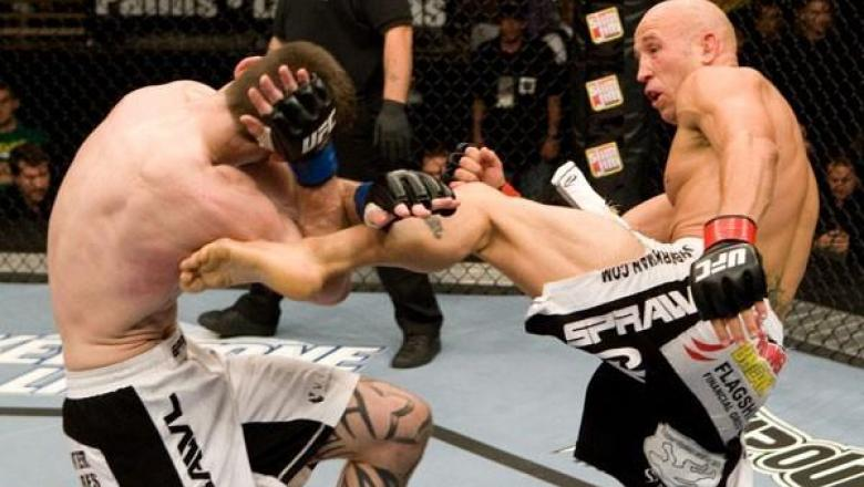 The Ultimate Fighter Finale Dustin Hazelett vs Josh Burkman