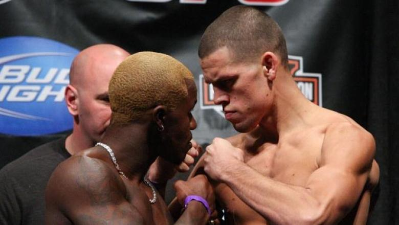 UFC Fight Night Weigh-In Melvin Guillard & Nate Diaz
