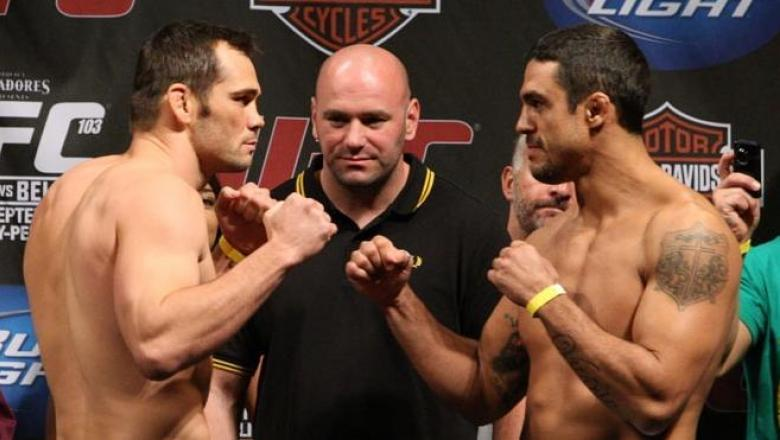 UFC 103 Weigh-In Rich Franklin & Vitor Belfort