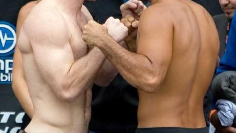 Matt Hughes BJ Penn UFC 63 Weigh In