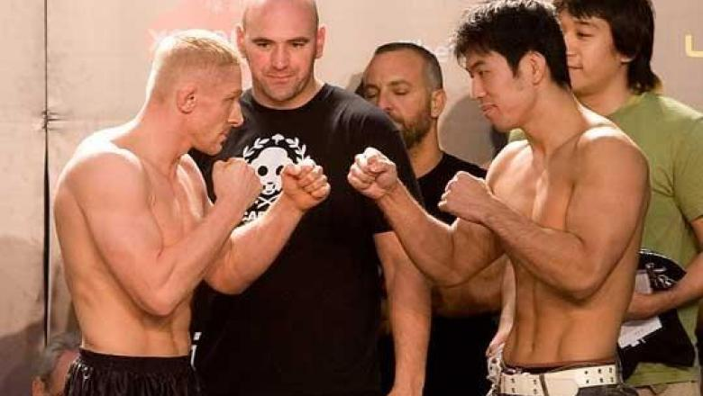 UFC 75 Weigh-In Dennis Siver & Naoyuki Kotani