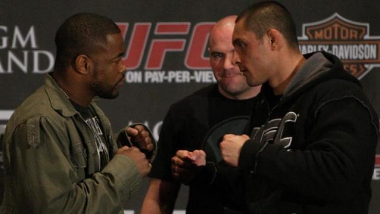UFC 108 Press Conference Evans & Silva