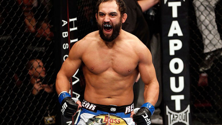 MONTREAL, QC - NOVEMBER 17:  Johny Hendricks reacts after knocking out Martin Kampmann with a left in the first round to win their welterweight bout during UFC 154 on November 17, 2012  at the Bell Centre in Montreal, Canada.  (Photo by Josh Hedges/Zuffa