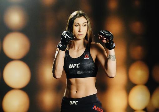 12 - Sabina Detras de camaras UFC Philadelphia