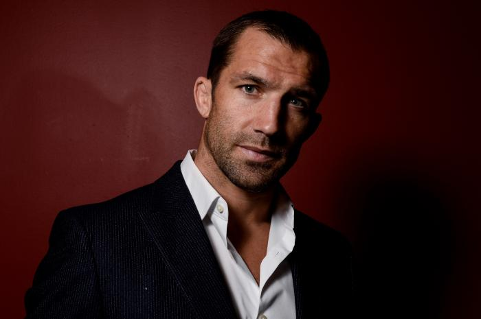PITTSBURGH, PA - SEPTEMBER 16: Luke Rockhold poses for a portrait backstage during the UFC Fight Night event inside the PPG Paints Arena on September 16, 2017 in Pittsburgh, Pennsylvania. (Photo by Brandon Magnus/Zuffa LLC/Zuffa LLC via Getty Images)
