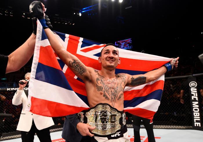 Outro norte-americano que tem boas lembranças da Cidade Maravilhosa é Max Holloway, que conquistou o título dos penas no UFC 212, em sua única passagem pelo Rio.