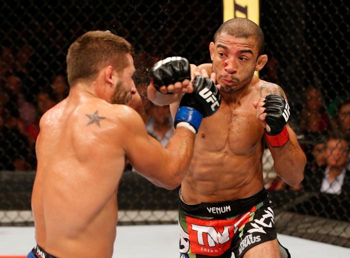 O UFC 179 foi a casa da melhor luta de 2014. A revanche entre Aldo e Chad Mendes teve cinco rounds de muita emoção, e o brasileiro saiu vencedor por decisão unânime.
