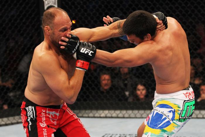 Lyoto Machida vs Randy Couture