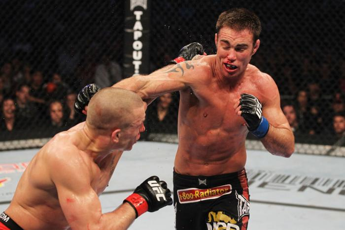 Georges St-Pierre vs Jake Shields
