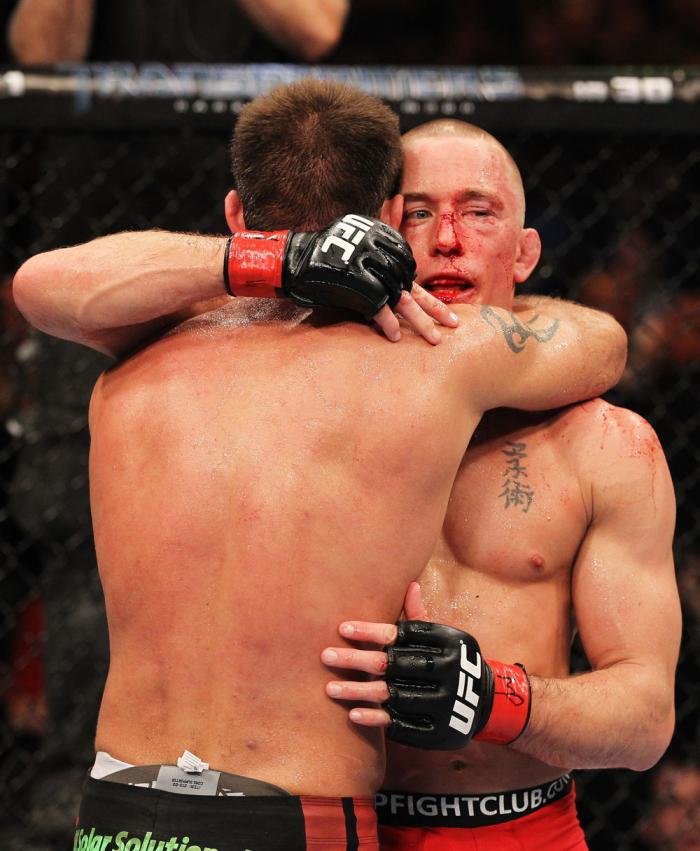 Georges St-Pierre & Jake Shields