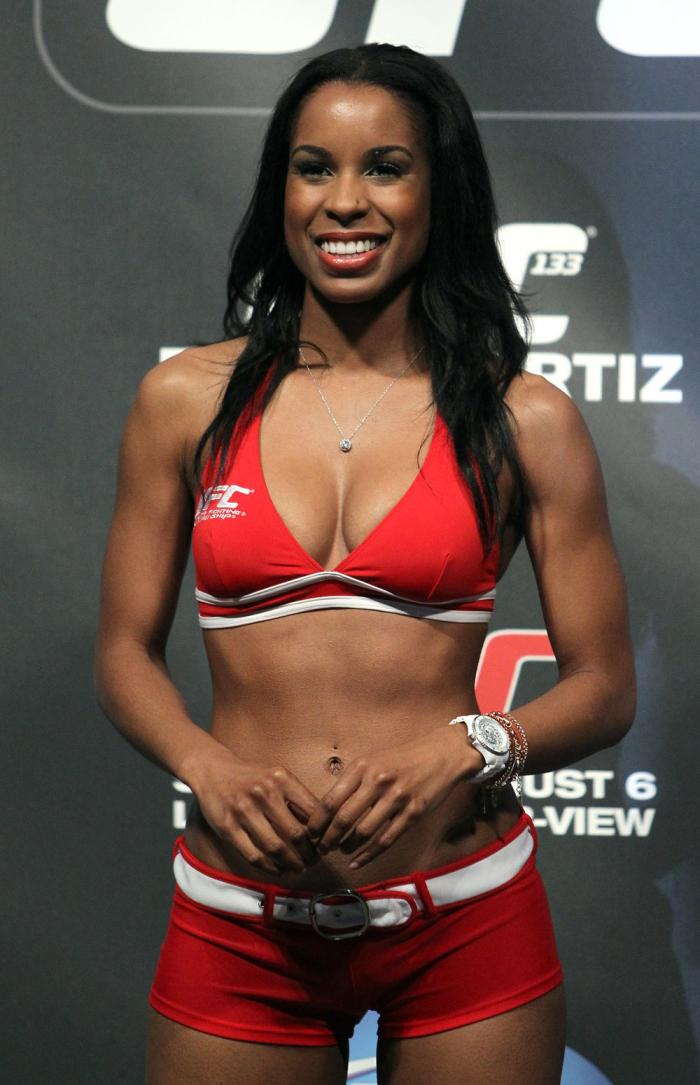 UFC Octagon Girl Chandella Powell