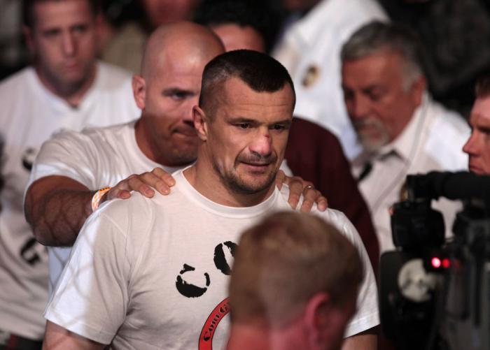 Mirko Cro Cop enters the arena