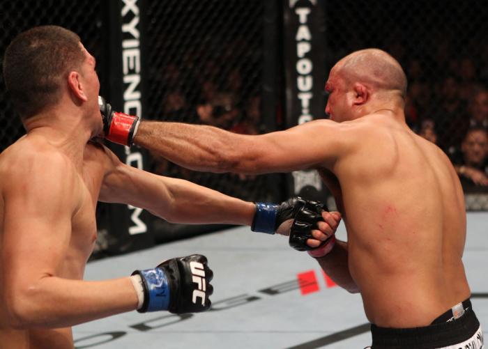 BJ Penn vs Nick Diaz