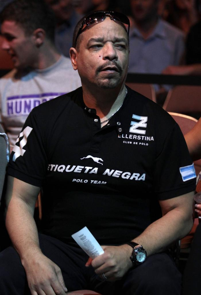 Actor and Rapper Ice-T