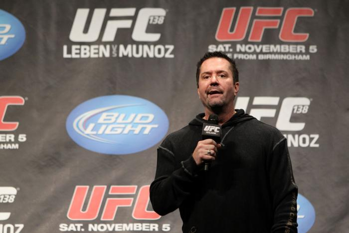 Mike Goldberg speaks at the 138 Q&A
