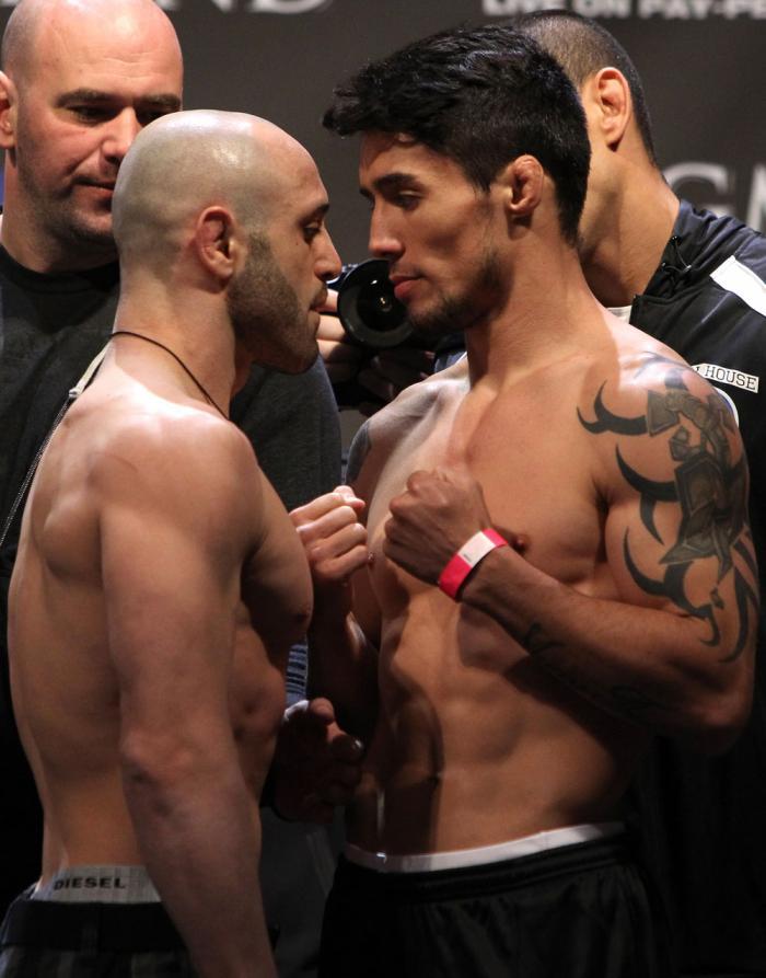 Manny Gamburyan & Diego Nunes