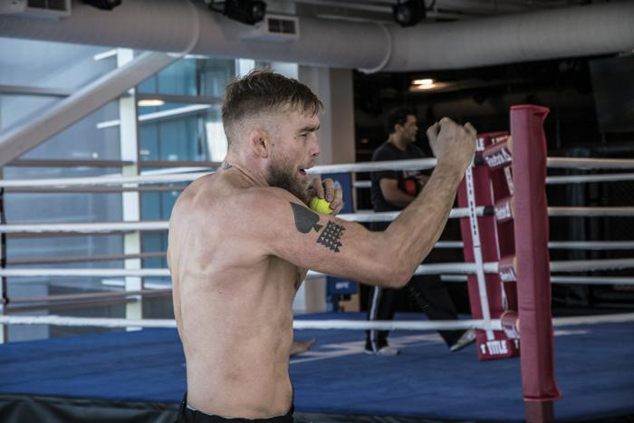 Alexander Gustafsson prepares for UFC 232 in Las Vegas at the UFC Performance Institute