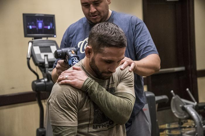 UFC 232 Chad Mendes Nightly Workout