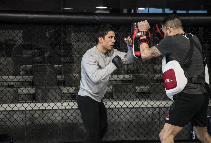 Joseph Benavides preparing for UFC Brooklyn at the UFC Performance Institute