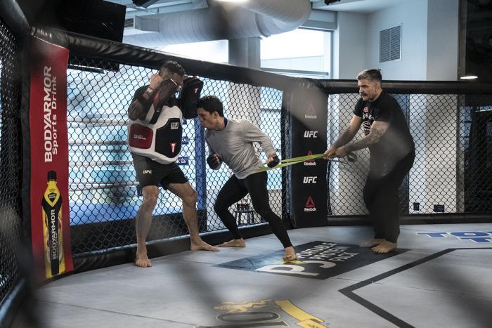 Joseph Benavidez preparing for UFC Brooklyn at the UFC Performance Institute